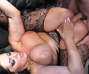 flexible gangbang babe Ashley Cum Star