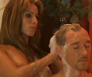 Sweet Massage From Blonde European