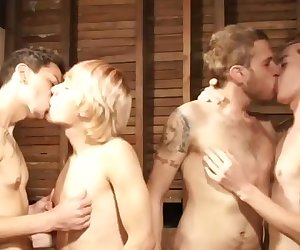 Keith Gordon with Quinn Cassidy with Johnny Hunger and Ricky Castro