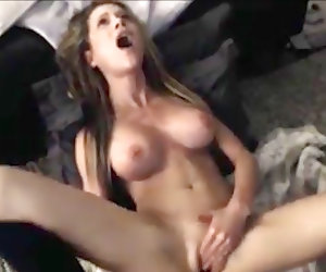Perfect babe playing with her pussy on camera