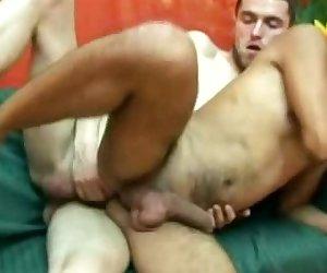 Hung Gay Cub Rides Anally