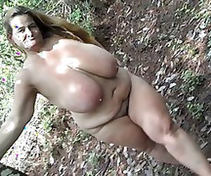 Fabulous Sarah outdoors