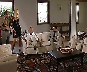 Blonde Julie Silver -Double penetration