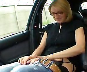 First time anal for a French mature milf