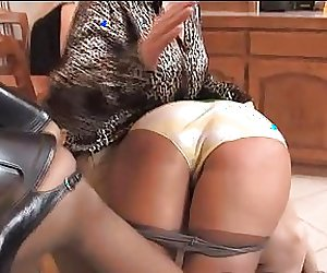 Spanked in Front of Her Friends