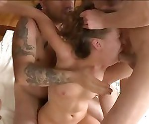 Grace Noel in the BRUTAL HARDCORE GANG BANG