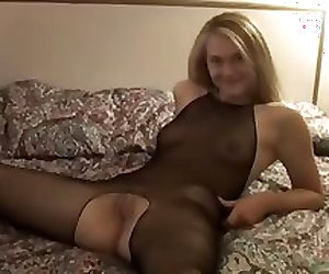 Hot blonde gets creampie from blacks vol2
