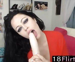 Hardcore pornstar Aryana Augustine 18flirt