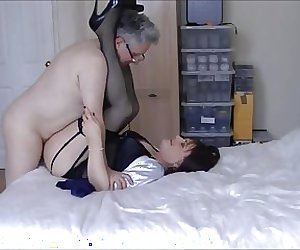 Maria Satin's - Landlady's Satin Fun - Part 2