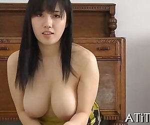 Oriental babe is a sex addict getting her fix