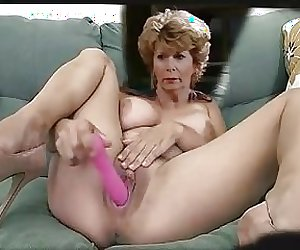 Diane plays with her toy