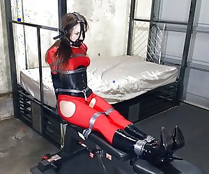 Rachel Adams Tied Up Tight In Spandex