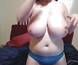 Girl with huge tits 7