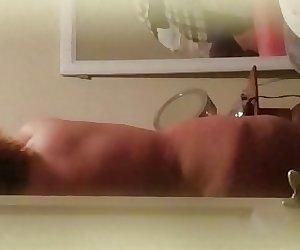 Bbw wife big titty grope