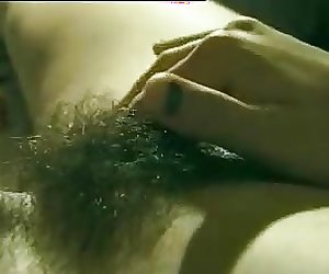 Hairy Pussy Chick With Milky Tits