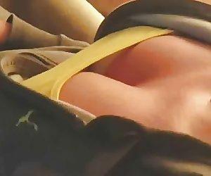Tits moving like jello