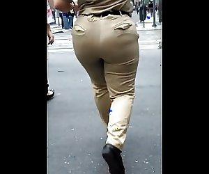 Quero ser preso por essa guarda Big Butt